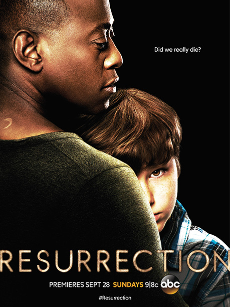 Cool tagline. The kid's half-nestled face conveys some emotion and creepiness. B
