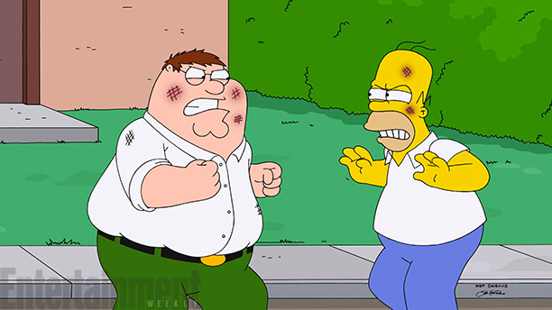 Family Guy, The Simpsons