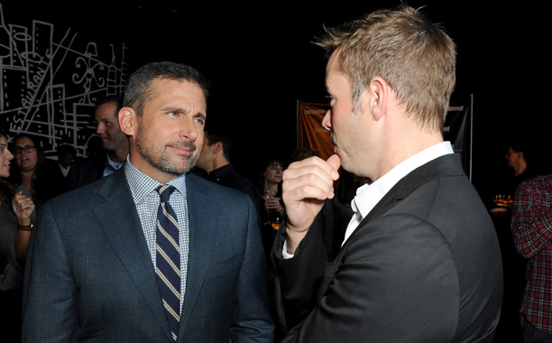 Steve Carell, Foxcatcher, and EW Editor Matt Bean