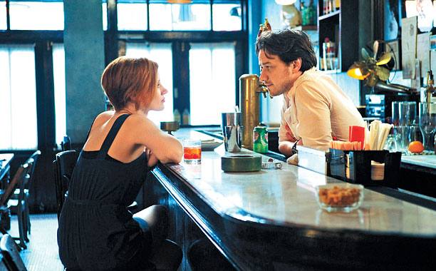 THE DISAPPEARANCE OF ELEANOR RIGBY Jessica Chastain and James McAvoy