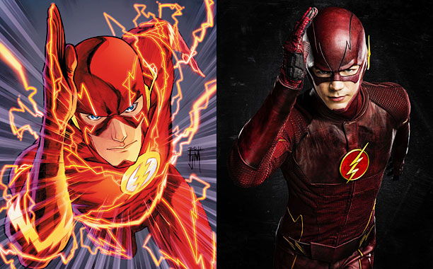 Comics backstory: A lightning bolt strikes a shelf of chemicals, dousing the forensic scientist and turning him into the Flash. TV turn: Introduced on Arrow…