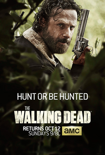 Intense shot of Mountain Man Rick. TV's top-rated drama doesn't need anything more than this to get fans excited. Yet The Walking Dead posters have…