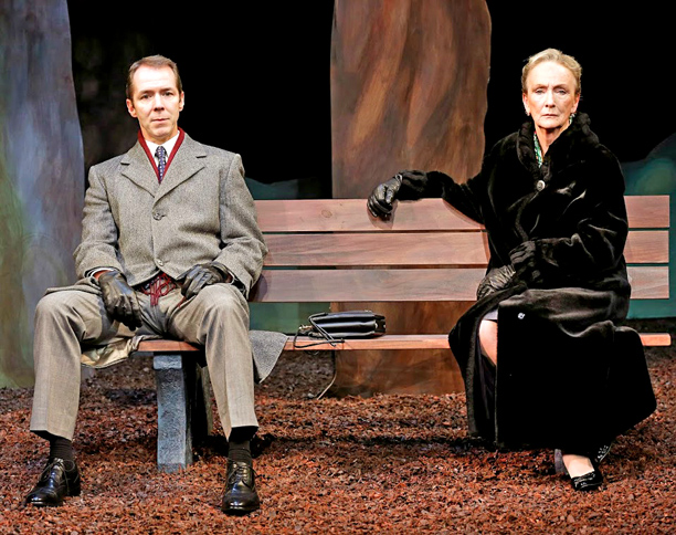A WALK IN THE WOODS Kathleen Chalfant and Paul Niebanck