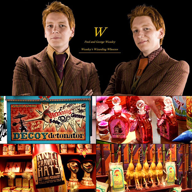Big idea: Weasleys' Wizard Wheezes For every magically brilliant life hack the twins cashed in on at their Diagon Alley store (spectacular Weasleys' Wildfire Whiz-bangs,…