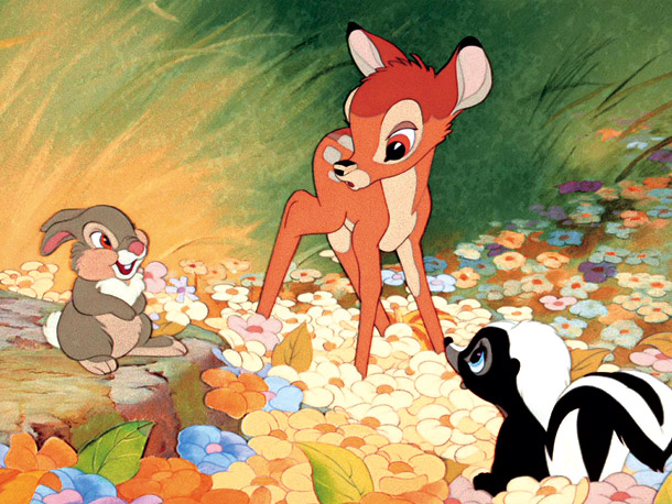 How many kids first learned about death because of Bambi ? Five decades before King Mufasa lectured Simba on the Circle of Life, Disney animators…
