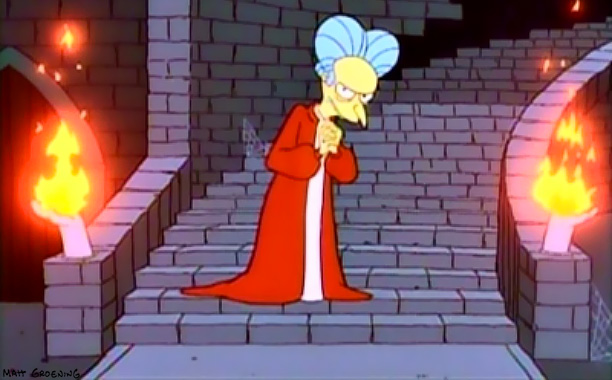 The Simpsons | Treehouse of Horror IV , 1993 According to Bart's introduction, this segment was a tossed-together last-minute replacement for the night's real third story, a terrifying…