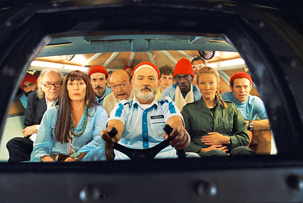 Bill Murray   Murray has appeared in every Wes Anderson movie since Rushmore . His only leading role is also his best, as a grief-stricken oceanographer hunting for…