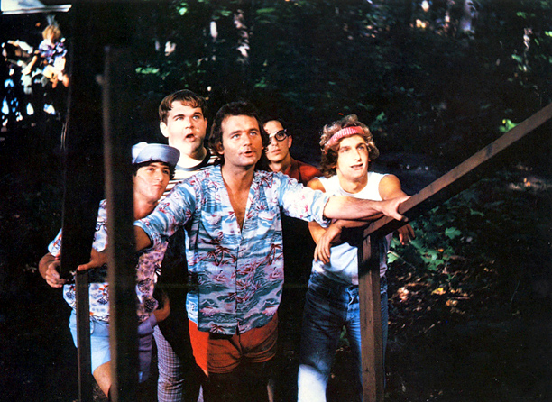 Bill Murray   After a couple of seasons on Saturday Night Live , Murray chose a PG-rated comedy about camp for his first starring role. It established him…