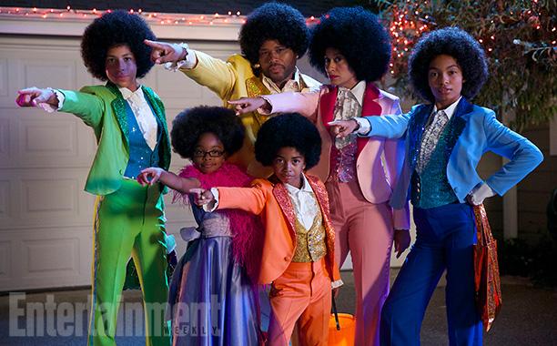 Oct. 29: The Johnsons (Marcus Scribner, Marsai Martin, Anthony Anderson, Miles Brown, Tracee Ellis Ross, and Yara Shahidi) as The Jacksons, Black-ish