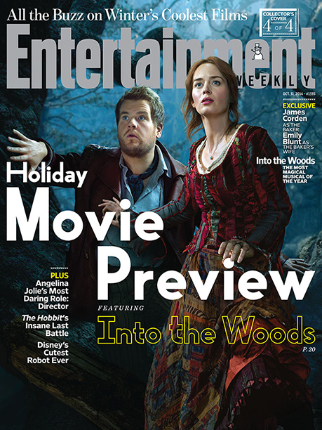 Into the Woods | For more the chemistry cooked up by James Corden and Emily Blunt, pick up a copy of EW on newsstands or buy a copy now…