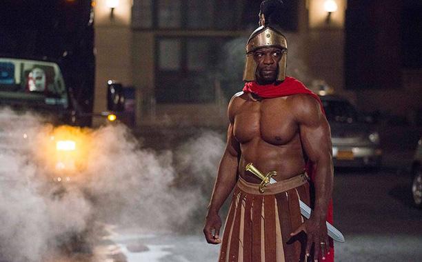 Oct. 19: Sgt. Terry Jeffords (Terry Crews) as a gladiator, Brooklyn Nine-Nine