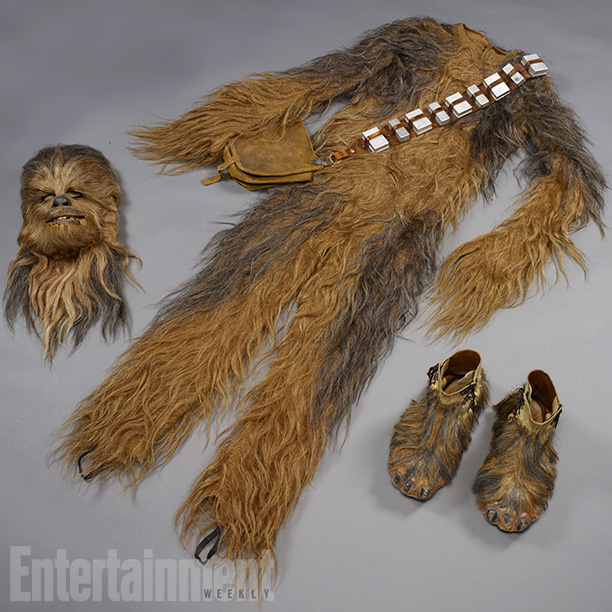 Star Wars | The Chewie suit Peter Mayhew wore in A New Hope came in three general pieces—the face, the feet, and a full body suit. Complete with…