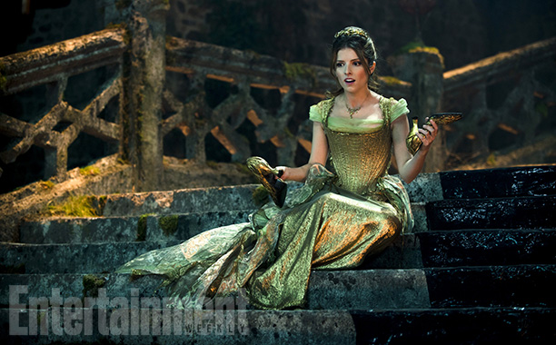 Into the Woods | One of the benefits of translating the musical to film involved changing certain songs. For instance, Cinderella's ''On the Steps of the Palace'' now takes…