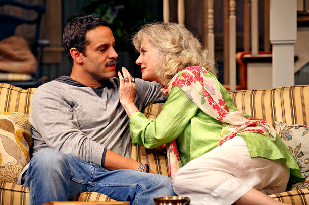 THE COUNTRY HOUSE Daniel Sunjata and Blythe Danner