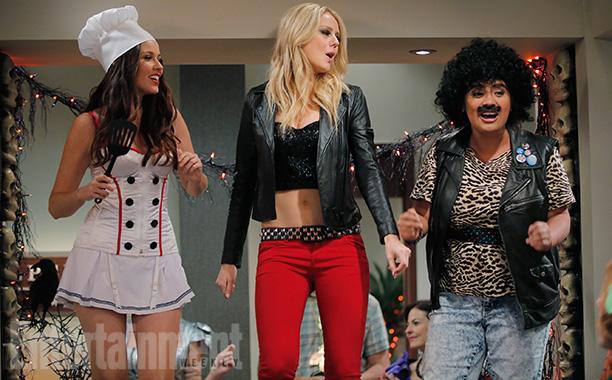 Oct. 24: Cheri (Jenn Proske) as a sexy chef with Maddie (Justine Lupe) and Cristela (Cristela Alonzo) as Hall & Oates, Cristela