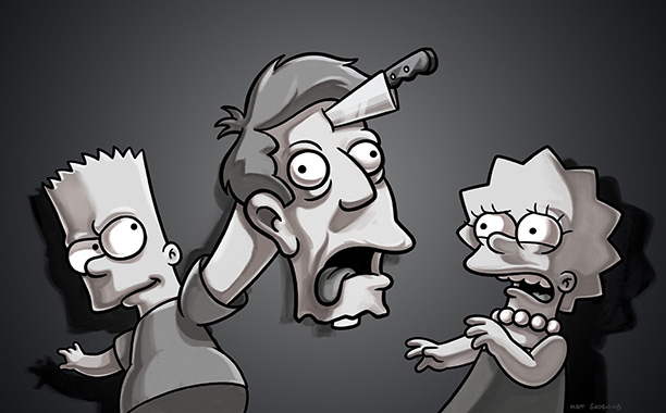 The Simpsons | Treehouse of Horror XX , 2009 The Simpsons has skewed the works of Alfred Hitchcock several times, most famously in season 6's Rear Window -inspired…
