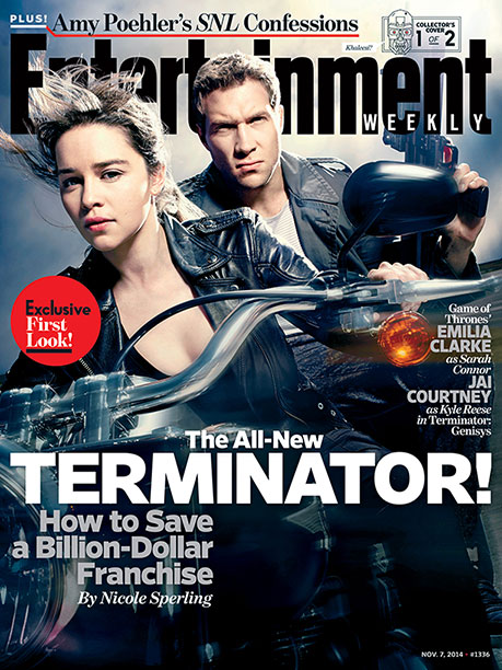 For more on the return of the Terminator franchise, pick up a copy of EW today on newsstands or buy the issue here .