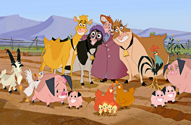 There's a lot to like about Home on the Range : the fact that Roseanne Barr, Judi Dench, and Jennifer Tilly voice its bovine leads,…