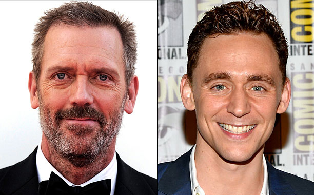 Hugh Laurie Tom Hiddleston