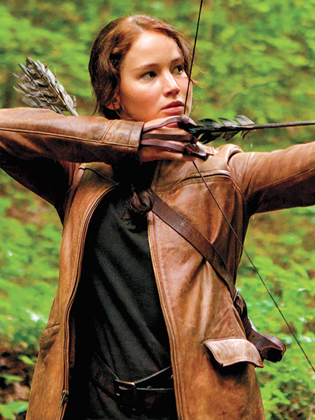 Designer: Judianna Makovsky For the film adaptation of Suzanne Collins' best-selling novel, reluctant warrior Katniss (Jennifer Lawrence) needed a badass hunting jacket, but in the…