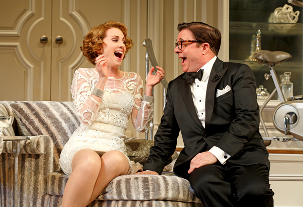 IT'S ONLY A PLAY Megan Mullally and Nathan Lane