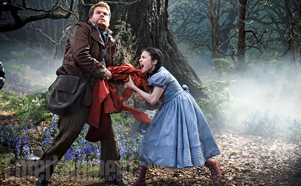 Into the Woods | Despite stealing a cape from a little girl, James Corden's Baker represents the audience's entry into the fantastical Woods . ''All of the other characters…