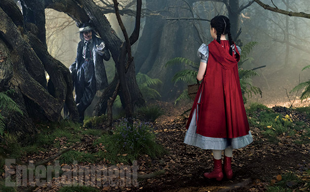 Into the Woods | Depp's big bad Wolf—inspired by the zoot suit-wearing lothario in the 1940's Tex Avery cartoon—was perhaps the filmmakers' biggest challenge, considering he's the sole animal…
