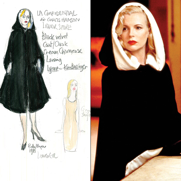 Designer: Ruth Myers Hooded capes weren't exactly a mainstay of 1950s Los Angeles, the era in which the film is set, so to conceive this…