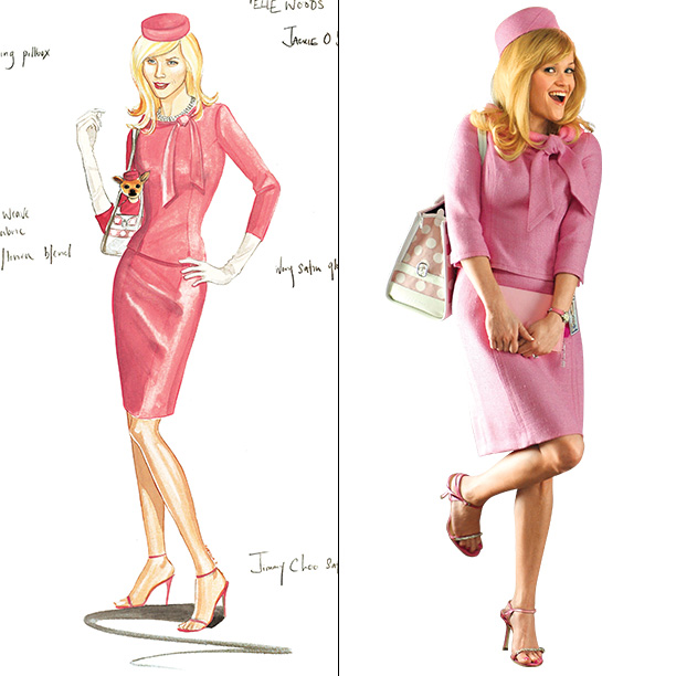 Designer: Sophie de Rakoff Fashionista Elle Woods (Reese Witherspoon) had only one sartorial inspiration for her trip to Washington. ''It was going to be Jackie…