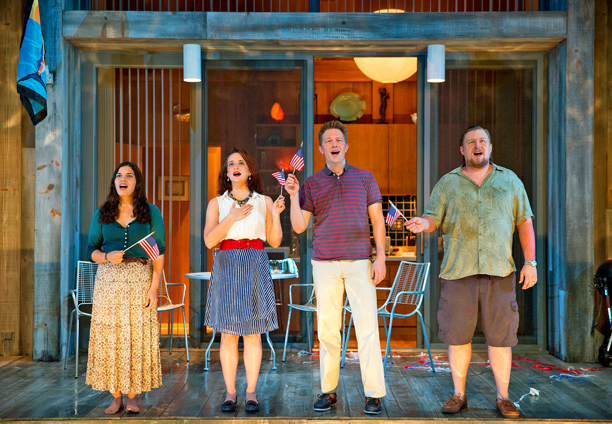 LIPS TOGETHER, TEETH APART America Ferrera, Tracee Chimo, Austin Lysy, and Michael Chernus