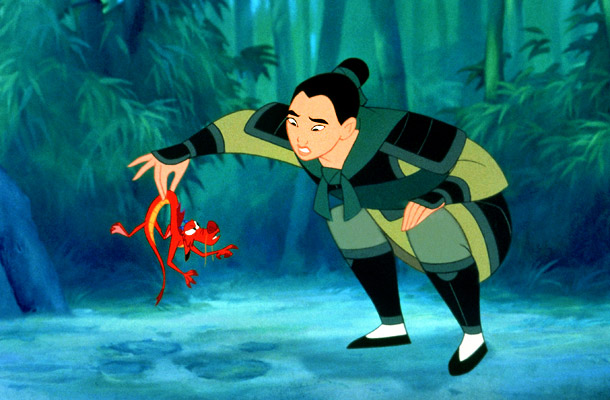 The girl-power trend of '90s Disney reached its apex with a lush rendering of a Chinese legend dating back to the fifth century — that…