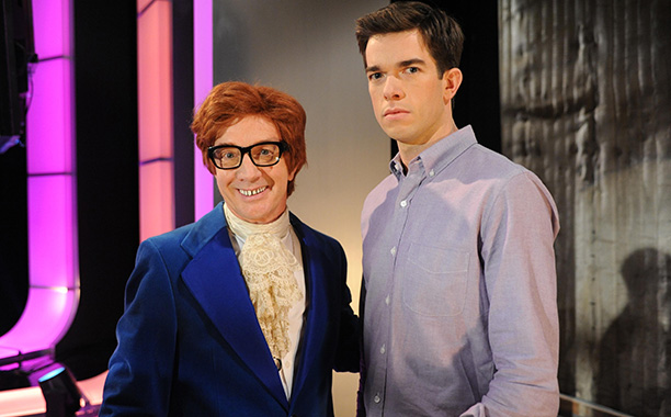 Oct. 19: Lou (Martin Short) as Austin Powers with John (John Mulaney), Mulaney