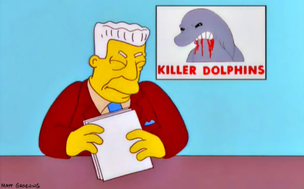 The Simpsons | Treehouse of Horror XI , 2000 There are two types of people: those who scratch their heads at this short — in which dolphins launch…