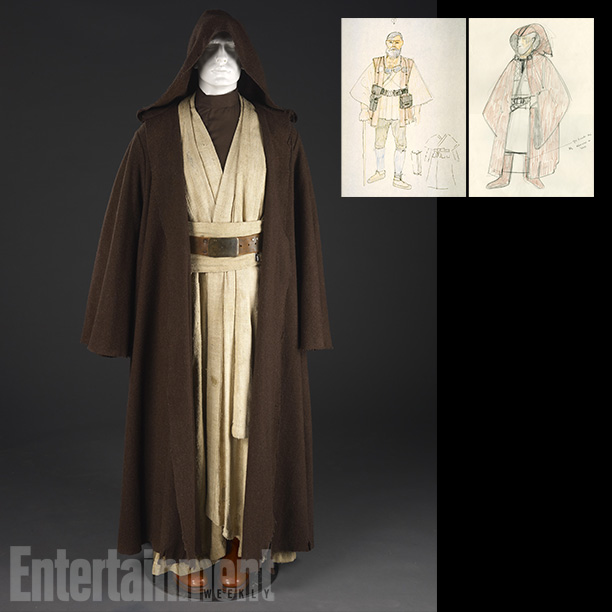 Star Wars | Simple yet memorable, Obi-wan ''Ben'' Kenobi's costume from A New Hope was originally meant to be a cross between the garb of samurai warriors and…