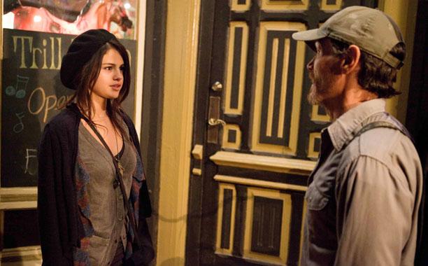 Selena Gomez and Billy Crudup in Rudderless