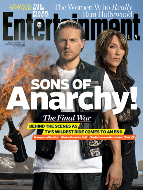 For more intel on Sons of Anarchy 's final ride, pick up a copy of EW on newsstands or buy it now .