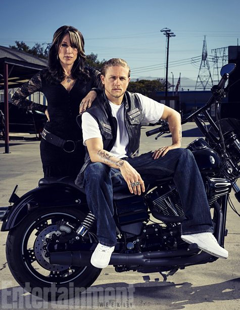''It will be hard to leave her,'' Katey Sagal says of bidding farewell to Gemma after seven seasons. She remembers sitting with Charlie Hunnam (Jax)…