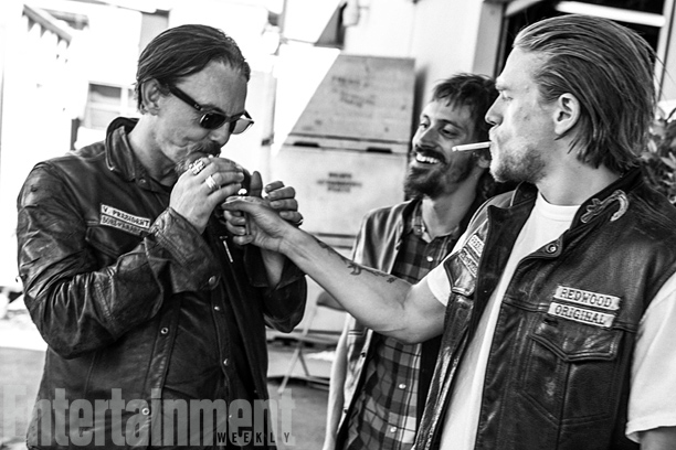 Flanagan, with Nicotera and Hunnam, will also miss his commute to the show's dusty ranch locations north of L.A. ''When we finish work, we just…