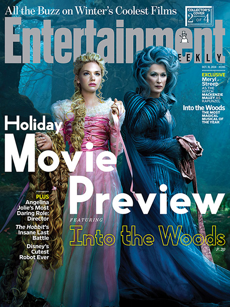 Into the Woods | For more on the bewitching Mackenzie Mauzy and Meryl Streep, pick up a copy of EW on newsstands or buy a copy now .