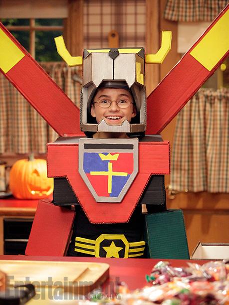 Oct. 29: Adam (Sean Giambrone) as Voltron, The Goldbergs