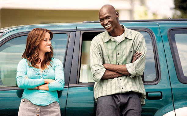 THE GOOD LIE Reese Witherspoon and Ger Duany