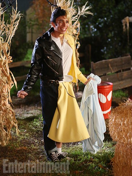 Oct. 29: Brad (Brock Ciarlelli) as Danny and Sandy from Grease, The Middle
