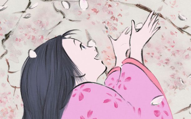THE TALE OF THE PRINCESS KAGUYA Main character illustration
