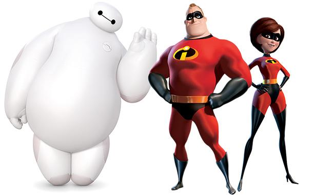 Big Hero 6 Incredibles