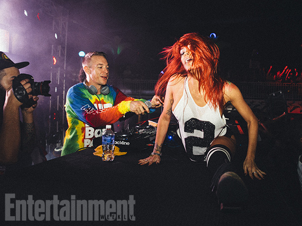 Diplo threw himself into his hosting duties with gusto, performing at least once a day—either by himself, with his hybrid EDM-dancehall group Major Lazer, or…