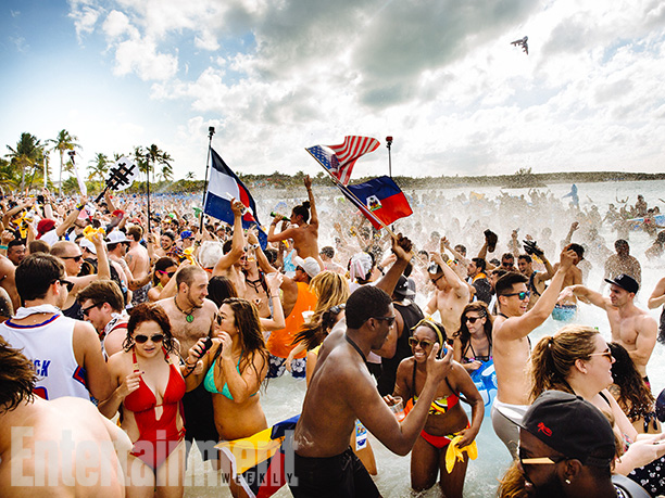 One of the week's standout moments came during Major Lazer's set at the beach rave when Jillionaire sent the crowd running into the water on…