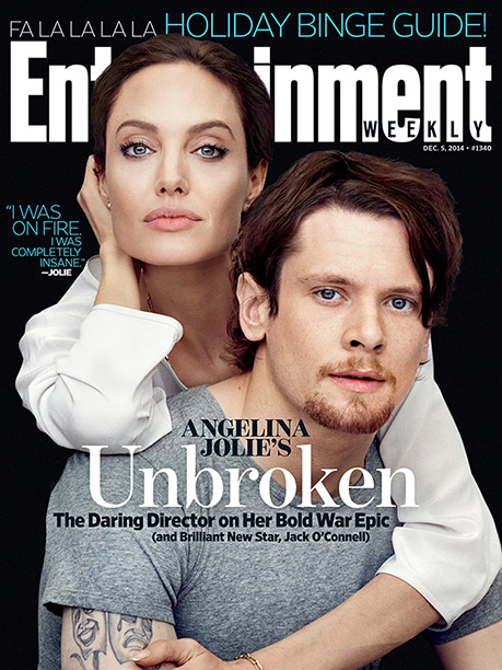 Unbroken, Angelina Jolie | For more on Angelina Jolie's World War II epic, pick up a copy of EW on newsstands this week or buy the issue here (available…