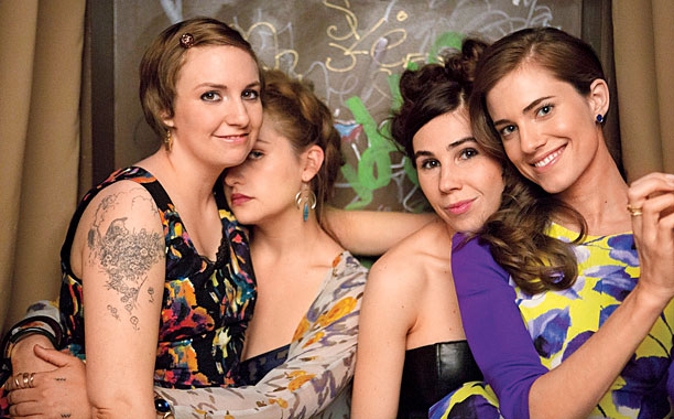 GIRLS NIGHT OUT Be sure to catch Girls season 3 premieres Jan. 12