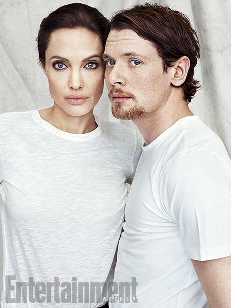 Unbroken, Angelina Jolie | ''She's an inspirational leader: very calm and very organized. Her support was crucial in order for me to be capable of doing it.'' — Jack…