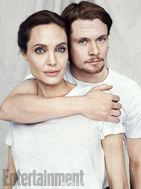 Angelina Jolie, Unbroken | ''I wanted someone relatively unknown [to play Louis Zamperini]. It had to be someone with a true masculinity that men would respond to as well…
